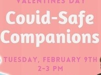 Valentine's Day COVID-Safe Companions | Tuesday, February 9th, 2-3 PM, de Witt Hall