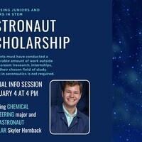 Astronaut Scholarship Virtual Information Session