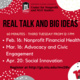 Real Talk and Big Ideas: Social Innovation