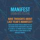 Manifest 2021 Zoom Forums