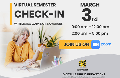 Virtual Semester Check-In with Digital Learning Innovations