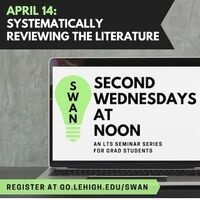 Systematically Reviewing the Literature | Second Wednesdays at Noon | LTS
