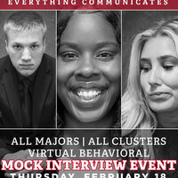 All Majors/All Career Clusters - Mock Interview Event