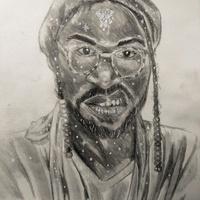 A self portrait by Ayomiku Adegbile