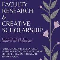 Faculty research & creative scholarship poster