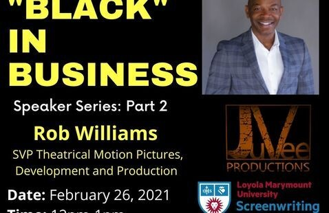 """""""BLACK"""" IN BUSINESS with Rob Williams"""