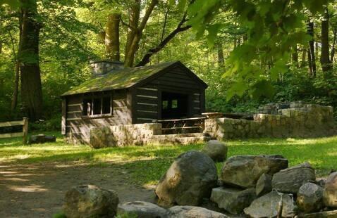 Spring Shelter at Pokagon State Park