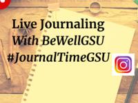 Live Journaling with BeWellGSU