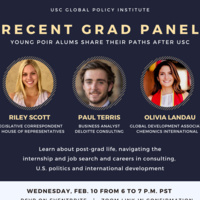 Recent Grad Panel: Young Alums Share Their Paths After USC