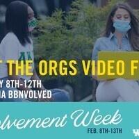Meet the Orgs Video Fair