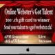 Webster's Got Talent !