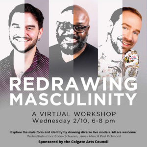 Redrawing Masculinity - A Virtual Workshop