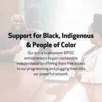 BIPOC Program Open Application Period