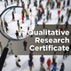 Graduate Certificate in  Qualitative Research (CQR) Info Session