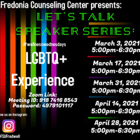 """Let's Talk Speaker Series: """"Experiences of LGBTQ+ Students of Color"""""""