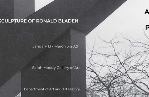 ANGLE/EDGE/PLANE: The Sculpture of Ronald Bladen