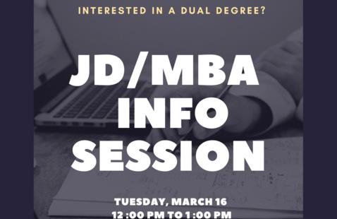 JD/MBA Program Information Session