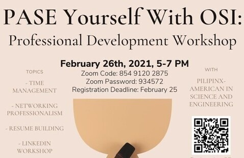 PASE Yourself with OSI: Professional Development Workshop