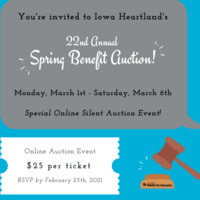 Iowa Heartland Habitat for Humanity's 22nd Annual Spring Benefit (virtual) Auction