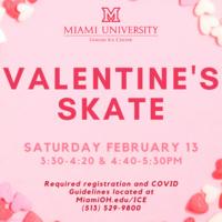 Valentine's Skate advertisement