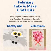 Take & Make Crafts