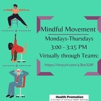 Mindful Movement Mondays