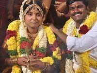 Wedding moment, Tamil Nadu, India