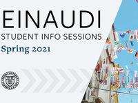 Info Session: Einaudi Center International Research Travel Grants