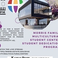 Morris Family Multicultural Student Center Student Dedication Program