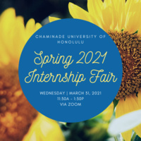 Spring 2021 Internship Fair / Information Session