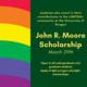John R. Moore Scholarship