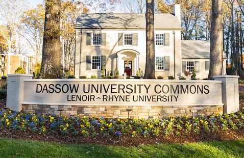 Dassow University Commons located on Lenoir-Rhyne University's Hickory campus.