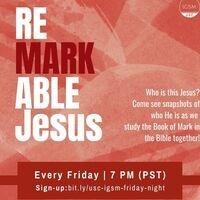 International Grad Students - ReMARKable Jesus Bible Studies