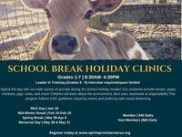SCHOOL BREAK HOLIDAY CLINICS