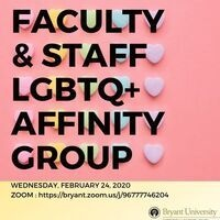 Faculty & Staff LGBTQ+ Affinity Group