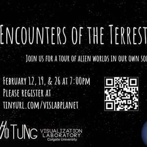 Encounters of the Terrestrial Kind - Vis Lab Virtual Show