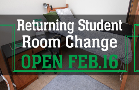 First Round: Returning Student Room Change Process