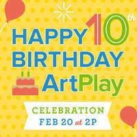 ArtPlay Family Day: ArtPlay's 10th Birthday