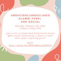 UNDE/UNDL Alumni Panel and Social