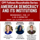American Democracy and Its Institutions