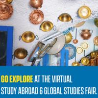 Study Abroad & Global Studies Virtual Fair
