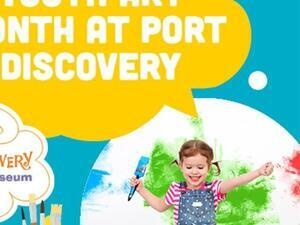 Youth Art Month Virtual Workshop with Port Discovery