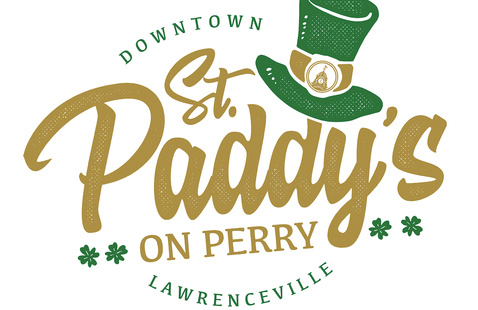 St paddys on perry poster