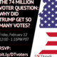 The 74 Million Voter Question #1 - Why Did Trump Get So Many Votes?