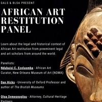 African Art Restitution Panel