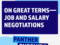 On Great Terms - Job and Salary Negotiations Workshop