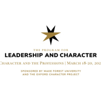 The Program for Leadership and Character: Character and the Professions Conference