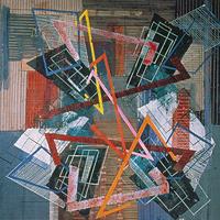 Irene Rice Periera, Triangles, ca. 1948