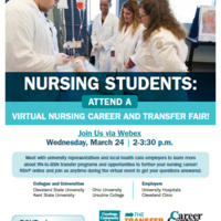 Virtual Nursing Career and Transfer Fair