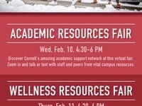 Virtual Academic Resources Fair for First Years and Transfers